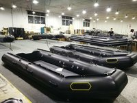 Liya Small Inflatable Rescue Boat Mititary Rubber Liftboat For Sale