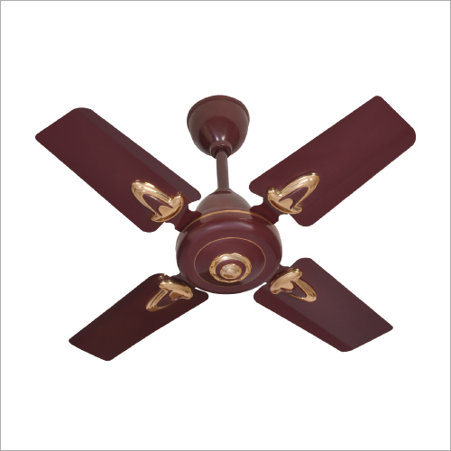 Small Blade Brown Ceiling Fan