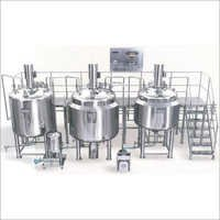 Liquid Syrup Processing Plant