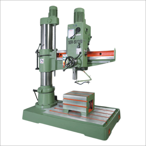 50mm All Geared Heavy Duty Radial Drilling Machine