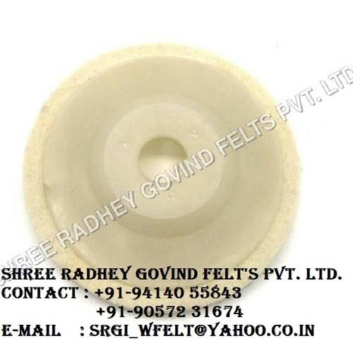 Round felt discs