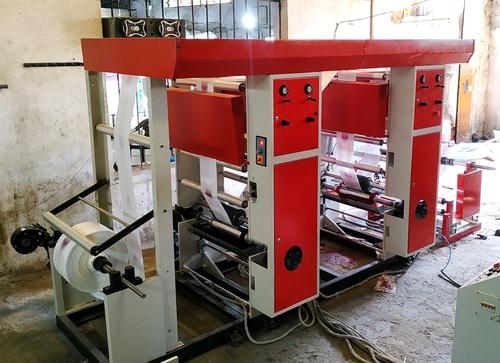 Two Colour Rotogravure Machine
