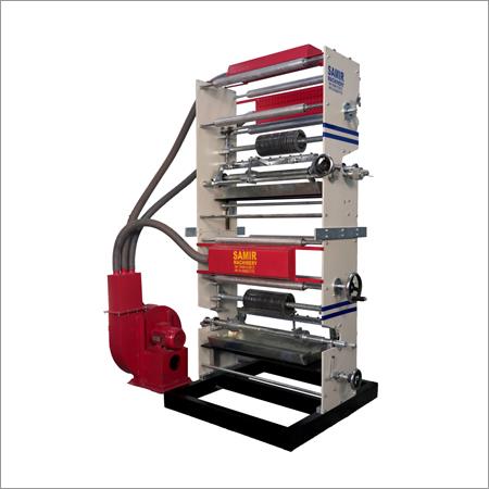 Two Colour Online Rotogravure Machine