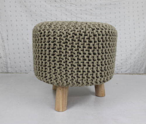 Knitted Footstools