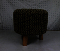 Knitted Footstool
