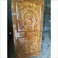 Carved Teak Door