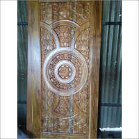 Designer CNC Carved Teak Door