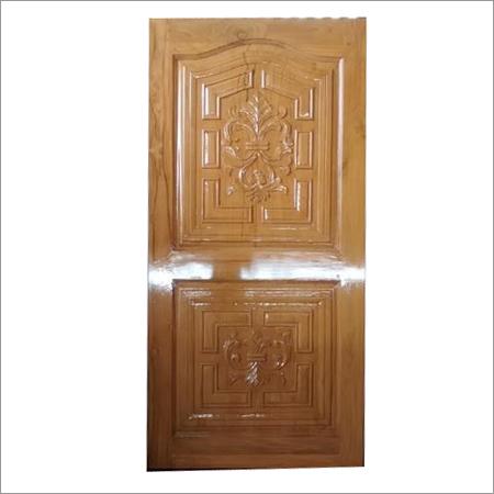 Glossy Polished Teak Carved Door