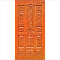 Hand Carved Teak Wood Door