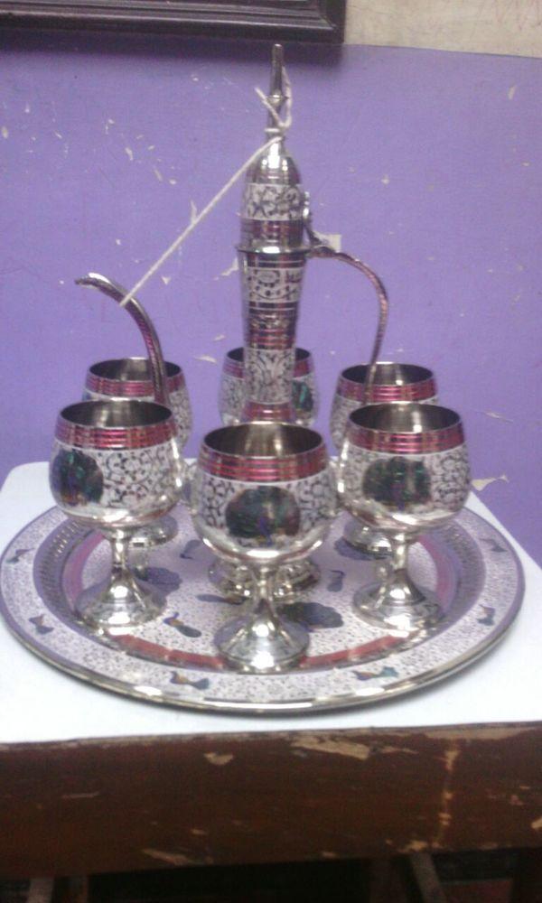 Brass Aftaab Set