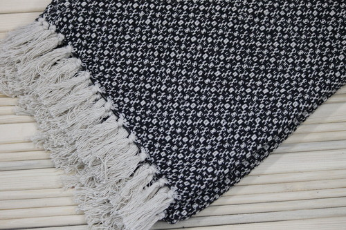 Cotton Herringbone Throws