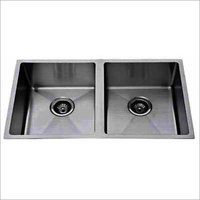 Double Square Bowl Kitchen Sink