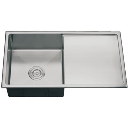 Single Square Bowl Single Drain