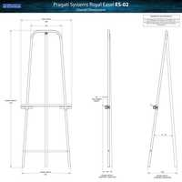Royal Easel & Art Display Stand (Tripod) ES-02