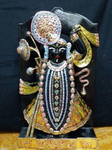 Marble Shreenath Ji Statue