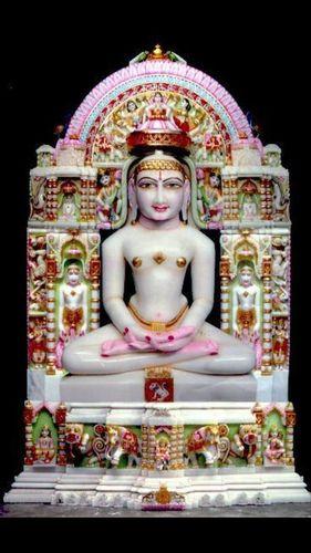 Jain Marble Statue