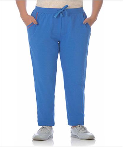 Ladies Blue Track Pant