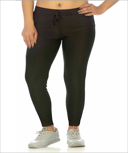 Ladies Black Track Pant