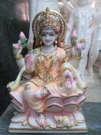 Marble Laxmi Maa Murti