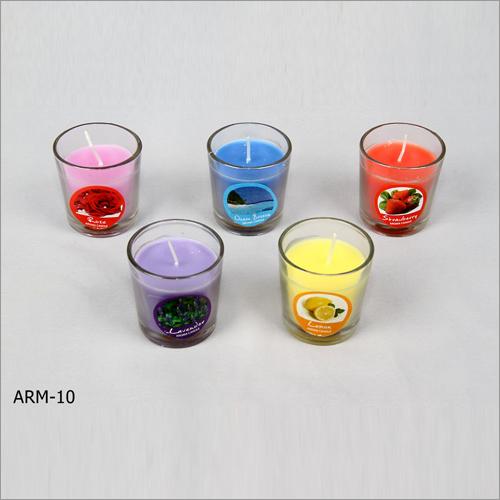 Glass Votive Candle
