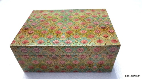 Resin Coated Decorated Boxes