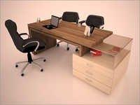 Modular Executive Desk