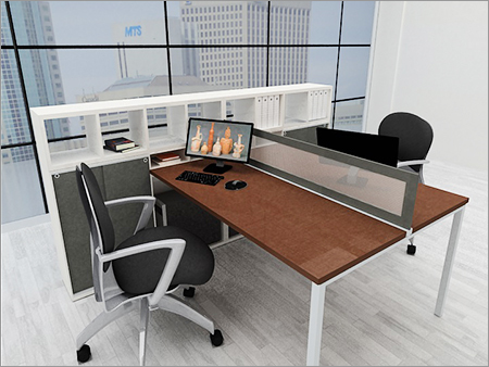 Linear Workstation Table