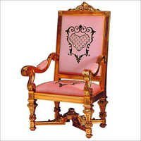 Wooden Maharaja Chair