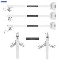 Universal Extendable Projector Wall Mount (4 Feet)