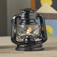 Lamplight Farmer's Lantern, Black