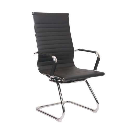 Cheapest and durable leather office chair with pu leather back