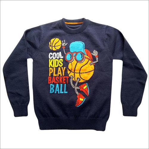 Kids Intarshia Sweater