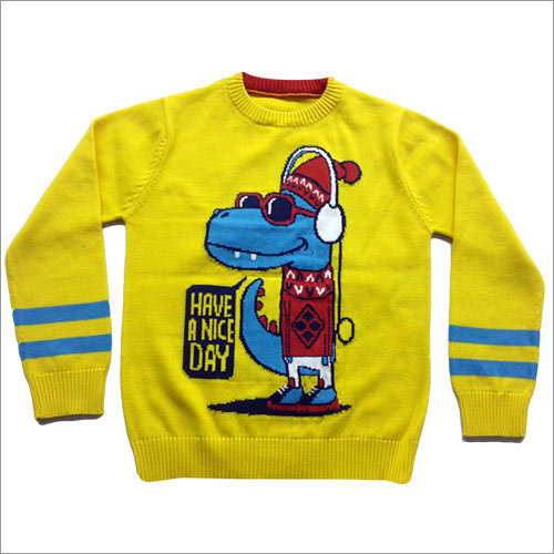 Kids Intarshia pullover