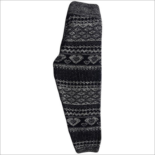 Kids Girls Knitted Jacquard Leggings