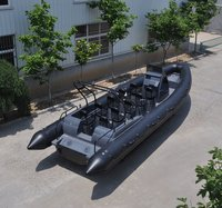 Liya 27ft Military Rib Boats Rigid Hull Inflatable Boats Rhib For Sale