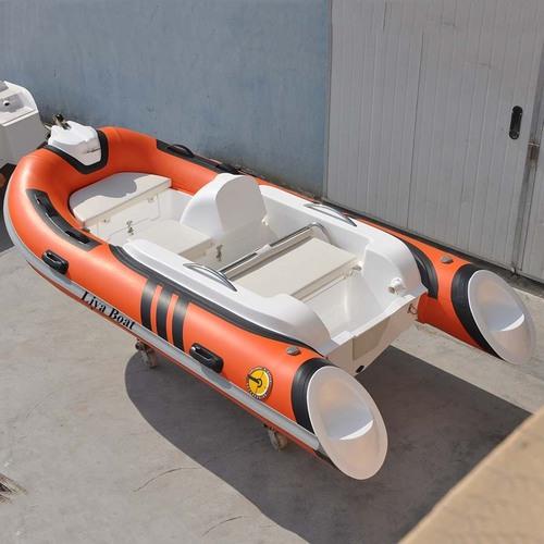 Liya 11ft/3.3m Mini Hypalon Rib Boats Rigid Hull Inflatable Boat For Sale