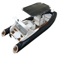 Liya 19ft/5.8m Hypalon Rib Inflatable Boat sport water boats for sale