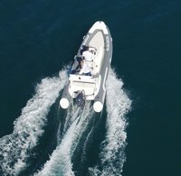 Liya 5.2m/17ft rigid hull hypalon inflatable boat for sale