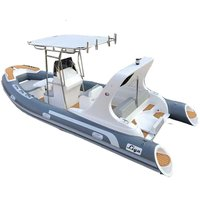 Liya19ft Semi Rigid Inflatable Rib Boat For Sale