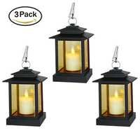 LED Lanterns with Cross Bar Design
