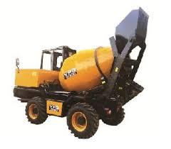 Self Loading Mobile Concrete Mixer