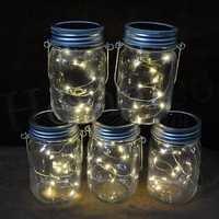 Homeleo 3 Pack Solar Mason Jar Lid Insert