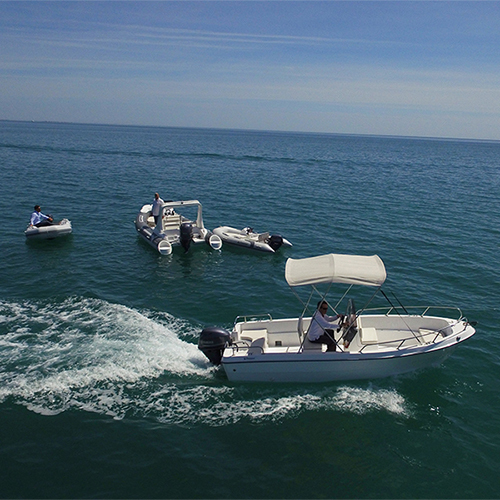 5m Fiberglass Fishing Boat