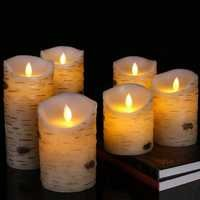 Flameless Led Candles Flickering Light