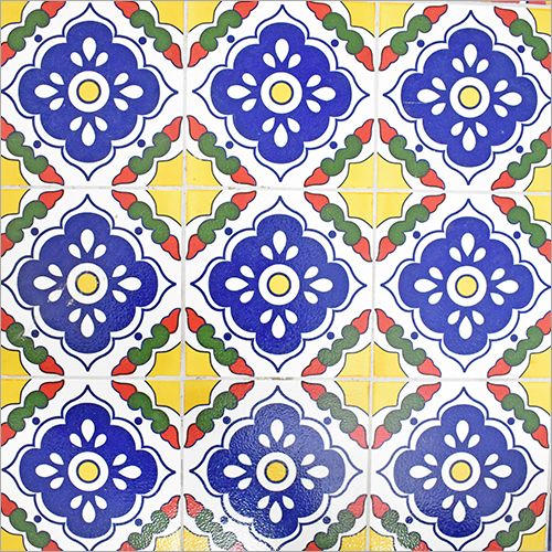 Pringting on Ceramic Mexican Tiles