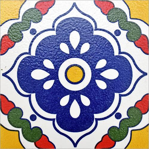 Designer Colorful Mexican Tile