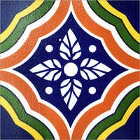 Pringting on Decorative Designer Mexican Tile