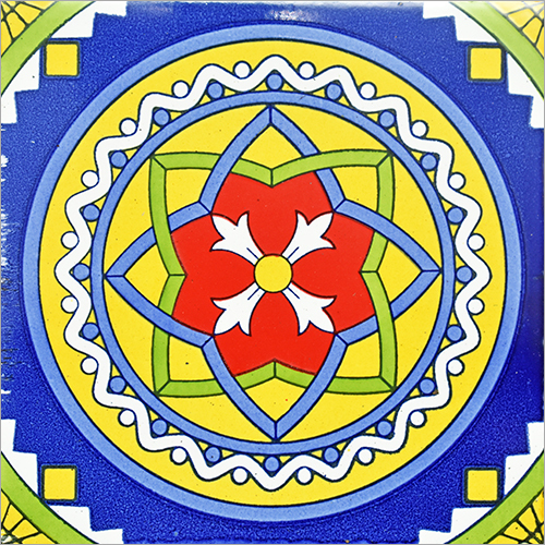 Printed Mexican Designer Tile