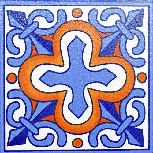 Traditional Designer Mexican Tile