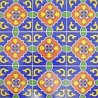 Colorful Designer Turkish Tile